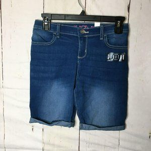 The Childrens Place Girls Skimmer Shorts 12 NWT
